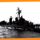 USS MARSHALL DD-676 Destroyer Navy Ship Postcard