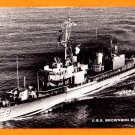 USS BROWNSON DD-868 Destroyer Navy Ship Postcard