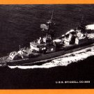 USS STICKELL DD-888 Destroyer Navy Ship Postcard