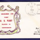 USS BADGER DD-126 Thermographed Cachet 1935 Naval Cover