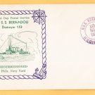 USS BERNADOU DD-153 FDPS Recommissioning 1939 Naval Cover