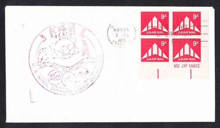 McMURDO STATION ANTARCTICA 1973 Operation Deep Freeze Polar Cover