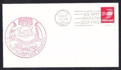 McMURDO STATION ANTARCTICA 1975 Operation Deep Freeze Polar Cover