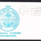 NAVAL COMMUNICATIONS McMURDO STATION ANTARCTICA 1977 Operation Deep Freeze Polar Cover