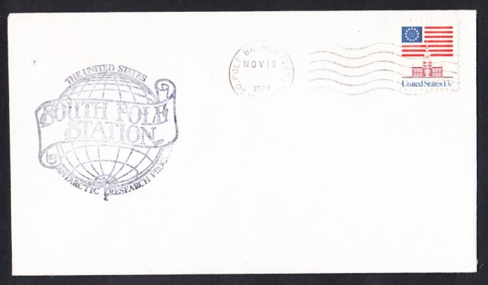 SOUTH POLE STATION ANTARCTICA 1977 Polar Cover