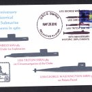 1960 HISTORICAL NUCLEAR SUBMARINE DEPLOYMENTS Naval Cover MHcachets ONLY 8 MADE