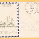 USS BROOME DD-210 1941 Naval Cover