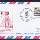 PORTUGUESE AIRWAYS NY to Lisbon Portugal First Flight Cover
