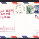 AM29 Wichita Ks to Tulsa OK First Flight Cover