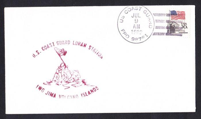 USCG IWO JIMA VOLCANO ISLANDS LORAN STATION Coast Guard Station Cover