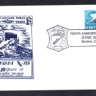 USS MIAMI SSN-755 10th Anniversary Naval Submarine Cover