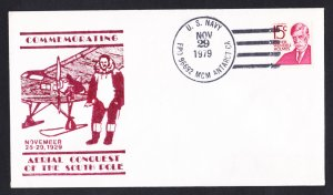 McMURDO STATION ANTARCTICA Admiral Byrd Flight Anniv. Polar Cover
