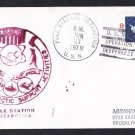 POLE STATION ANTARCTICA Deep Freeze 1972 Polar Cover