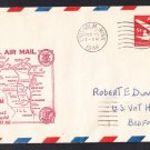 AM86 Chisolm MN to Milwaukee WI 1948 First Flight Cover