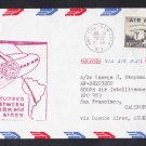 PAN AM AIRLINES NT to Buenos Aires Argentina First Fligfht Cover