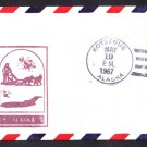 AM128 Kotzebue AK to Anchorage AK 1967 First Flight Cover