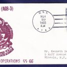 USS ATKA AGB-3 Operation Deep Freeze 1965-66 Polar Naval Cover