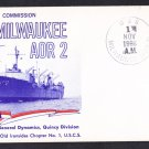 USS MILWAUKEE AOR-2 Commissioning Naval Cover