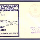 USS SICILY CVE-118 Caribbean Tactical Maneuvers 1947 Naval Cover