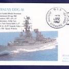 USS JOSEPH STRAUSS DDG-16 Naval Cover ONLY 1 MADE