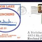 Submarine Tender USS SIMON LAKE AS-33 Launching BECK #B417 Naval Cover