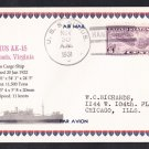 USS SIRIUS AK-15 1931 Naval Cover MHcachets ONLY 1 Made