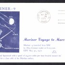 MARINER 9 SPACECRAFT Launch 1971 Space Cover