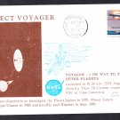 VOYAGER 2 SPACECRAFT Launch 1977 Space Cover