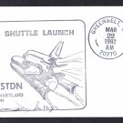 SPACE SHUTTLE COLUMBIA STS-3 Launch 1982 Space Cover