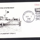 USS FLAGSTAFF PGH-1 Naval Cover
