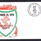 Destroyer Escort USS DONALD B. BEARY DE-1085 Columbus Day BECK #B957 Naval Cover