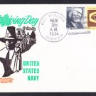 Destroyer USS HOLDER DD-819 Thanksgiving Day BECK #B986 Naval Cover