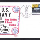 Destroyer Escort USS STEIN DE-1065 US Navy 199th Anniversary BECK #B962 Naval Cover