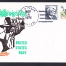 Destroyer USS FISKE DD-842 Thanksgiving Day BECK #B987 Naval Cover
