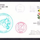 USS FIDELITY MSO-443 Port Everglades FL Naval Cover
