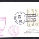 USS BARNSTABLE COUNTY LST-1197 Ship's Cachet Naval Cover
