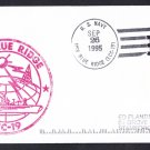 USS BLUE RIDGE LCC-19 Ship's Cachet Naval Cover