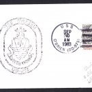 USS O'BRIEN DD-975 Ship's Cachet Naval Cover