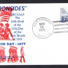 USS DAMATO DD-871 Armistice Day Naval Cover