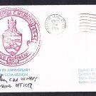USS GEORGE C. MARSHALL SSBN-654 CO Autograph Naval Submarine Cover
