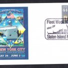 Fleet Week Staten Island New York Naval Cover
