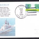 USS DALE DLG-19 Naval Cover MhCachets Only 1 Made