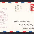 National Airlnes Providence to Jacksonville 1956 First Flight Cover