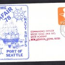 USCGC BARQUE EAGLE Seattle Seafair Fleet Coast Guard Naval Cover