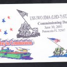 USS IWO JIMA LHD-7 COMMISSIONING Naval Cover