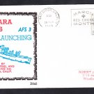 Stores Ship USS NIAGARA FALLS AFS-3 LAUNCHING BECK #B645 Naval Cover