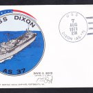 USS DIXON AS-37 COMMISSIONING Naval Cover