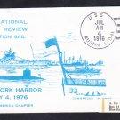 USS AUSTIN LPD-4 International Naval Review Naval Cover