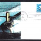 LOS ANGELES CLASS SUBMARINE Stamp 3372 FDC Naval Cover