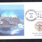 USS CARL VINSON CVN-70 30th Anv Fancy Cancel Naval Cover MhCachets 8 Made
